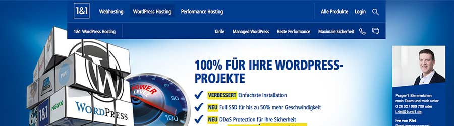 1und1 wordpress hosting